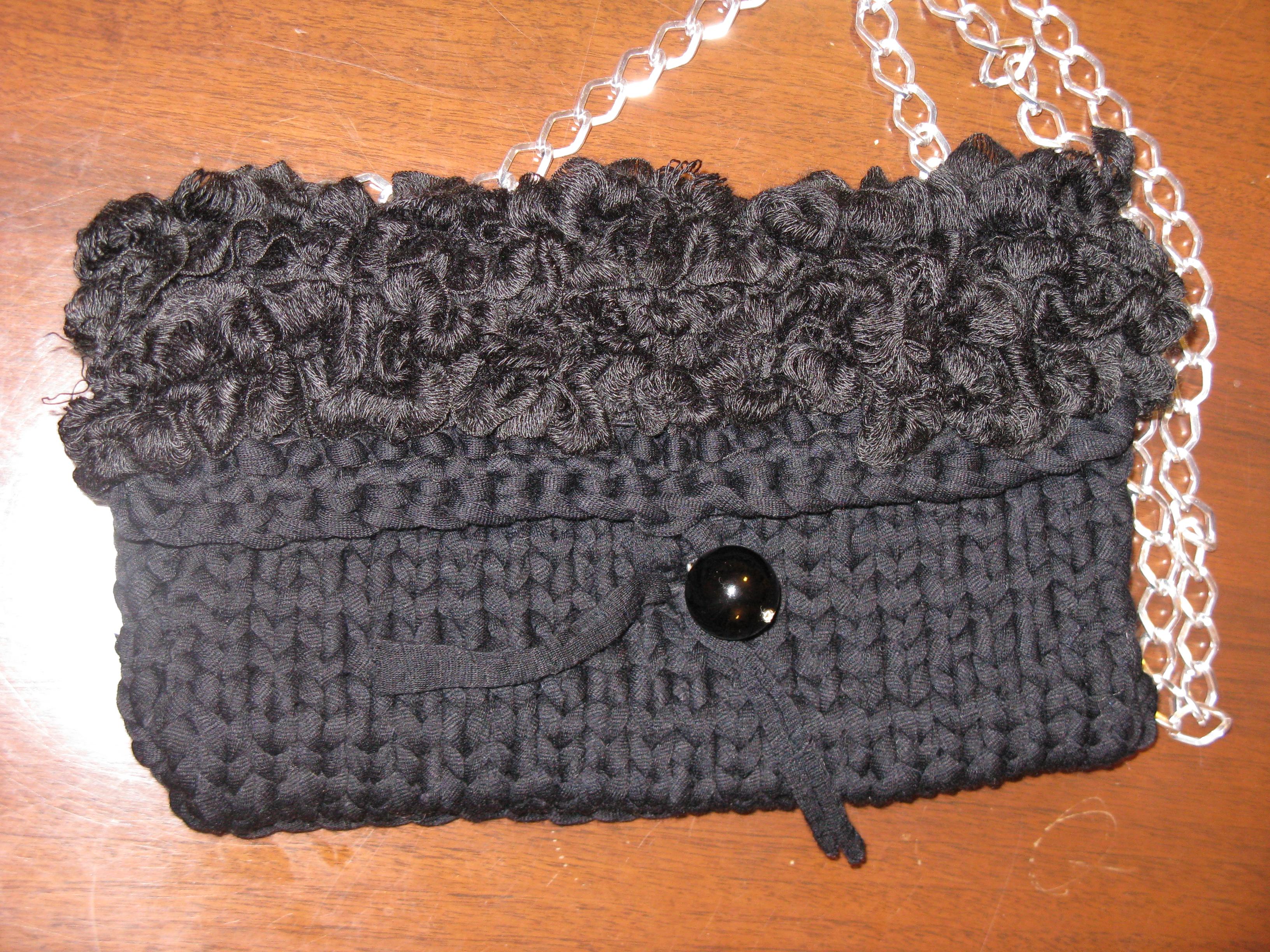 Borse Cotone Ferri : Borse di lana e cotone angiecreation borsa