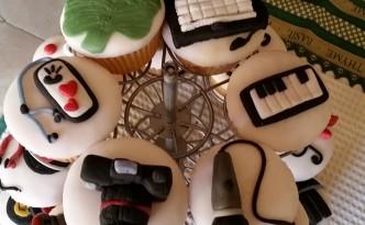 cupcakes macchina fotografica