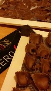 Tortelloni al cacao - impasto al cacao