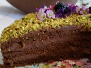 Torta al cioccolato e gianduia