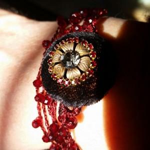 Collana di seta