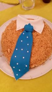 Torta sbriciolata alle fragole per la festa del papa'