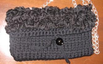 più recente e8e57 3d1e5 Borse di lana - fettuccia - ciniglia fatte a mano - DeisIDEE