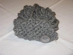 scaldacollo bonbon grigio chiaro