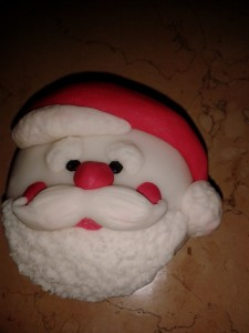 ricetta cupcakes babbo natale