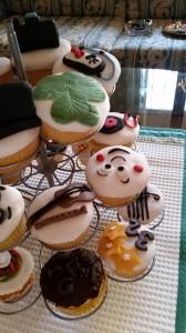 cupcakes decoro pasta zucchero