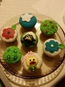 cup cakes Calimero