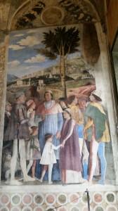 Castello di S.Giorgio Camera degli Sposi