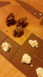 Tortelli al cacao - sfoglia