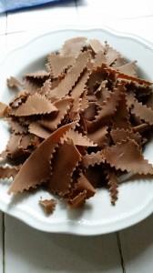 Maltagliati al cacao - impasto al cacao